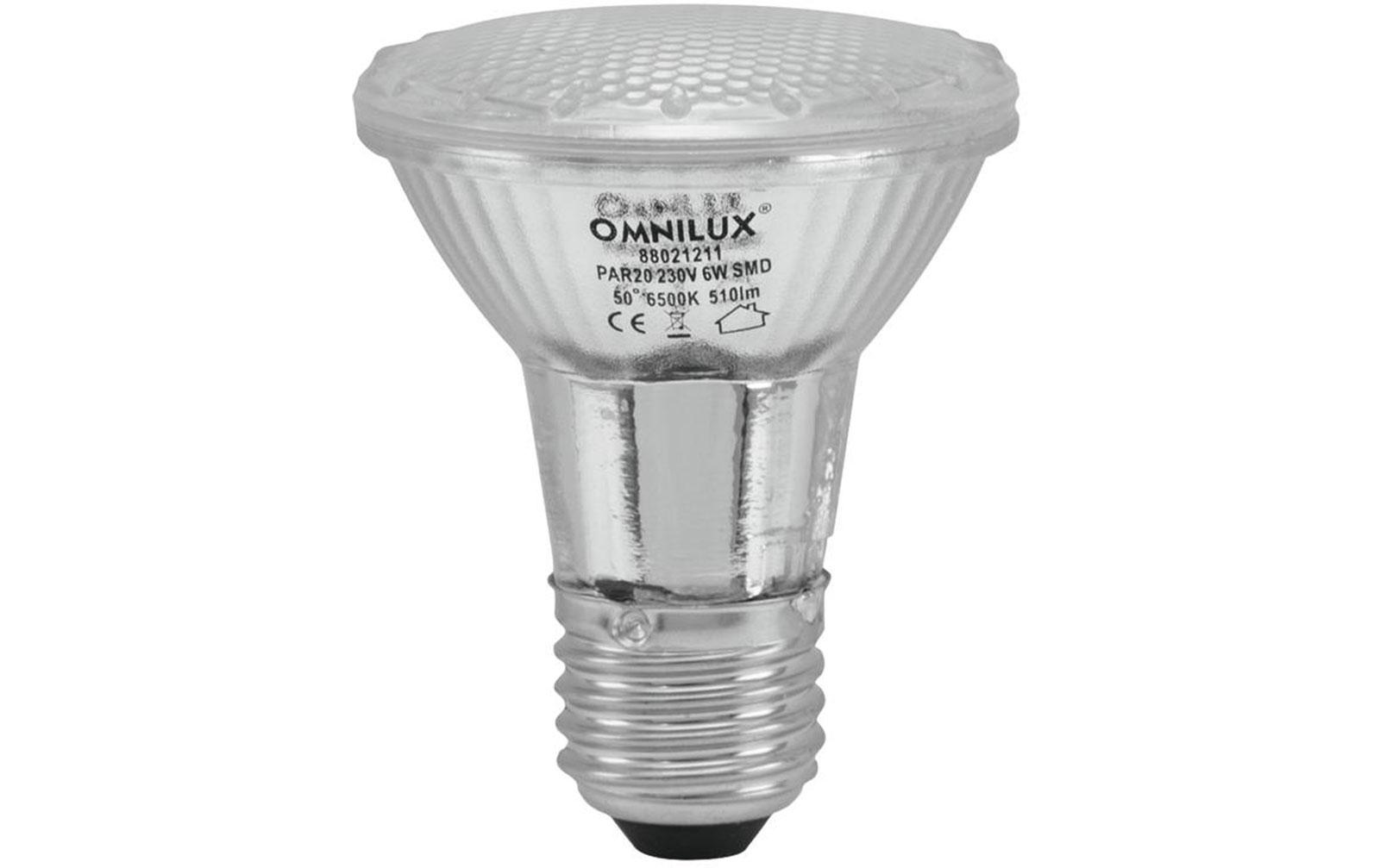 omnilux-par-20-230v-smd-6w-e-27-led-6500k