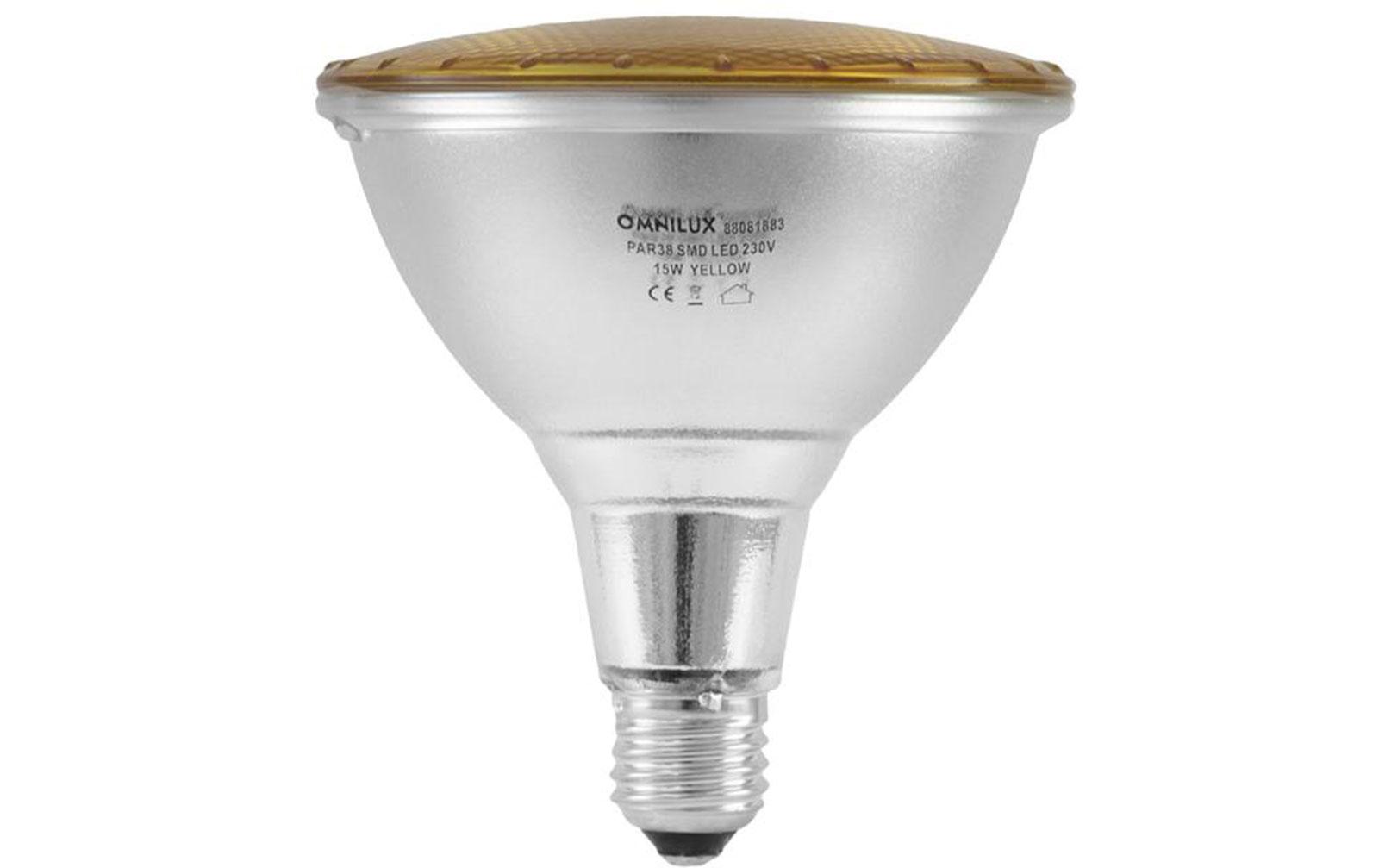 omnilux-par-38-230v-smd-15w-e-27-led-gelb