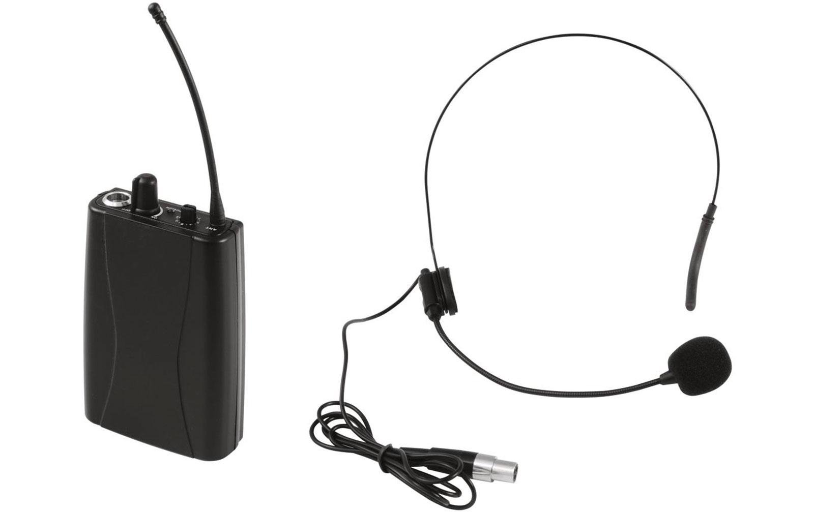 Omnitronic Set WMT-1M UHF-Sender + UHF-502 Headset