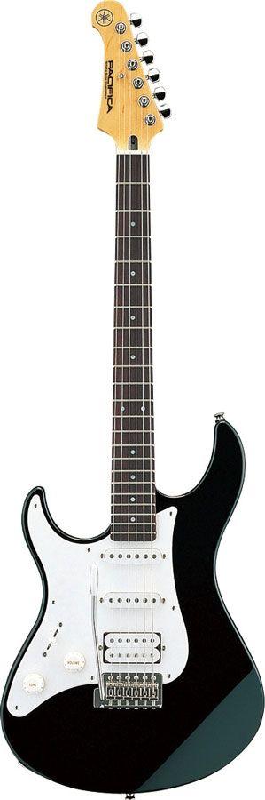 Yamaha Pacifica 112JL black, Lefthand