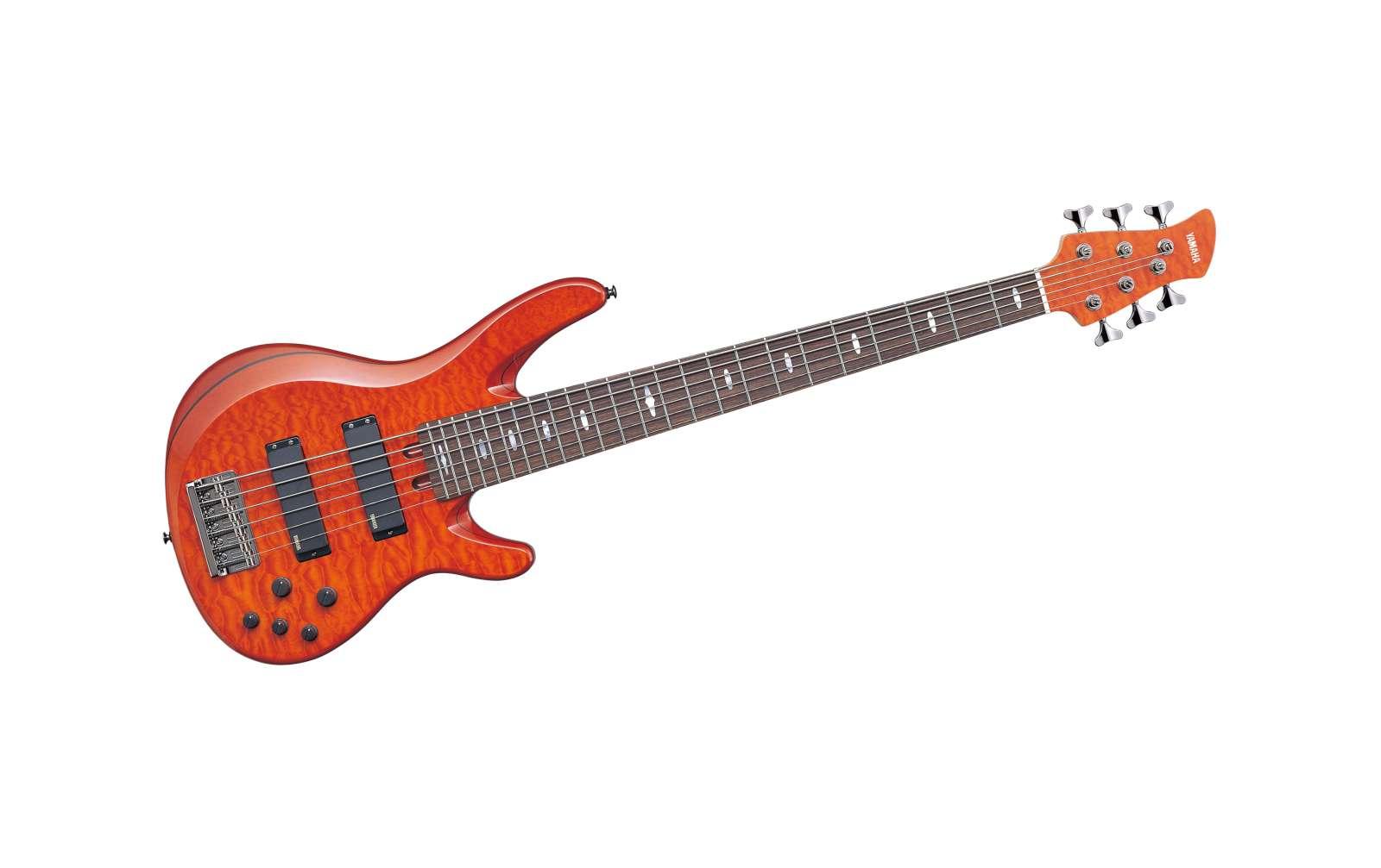 Yamaha Electric Bass TRB1006J Caramel Brown