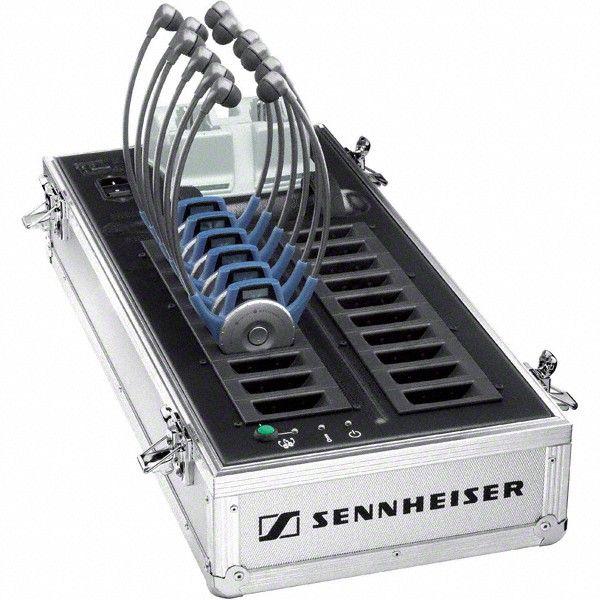 Sennheiser EZL 2020-20L Lade- und Transportkoffer für bis zu 20 TourGuide 2020-D