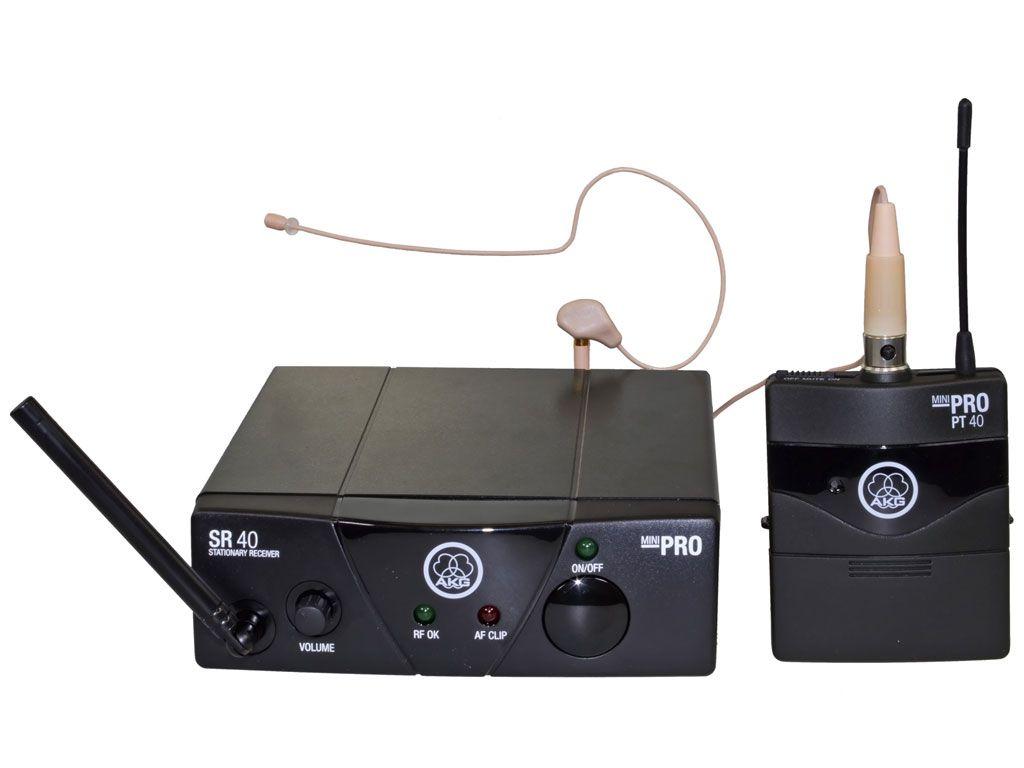 AKG WMS40 Mini Earmic Set ISM 3/864,850 MHz