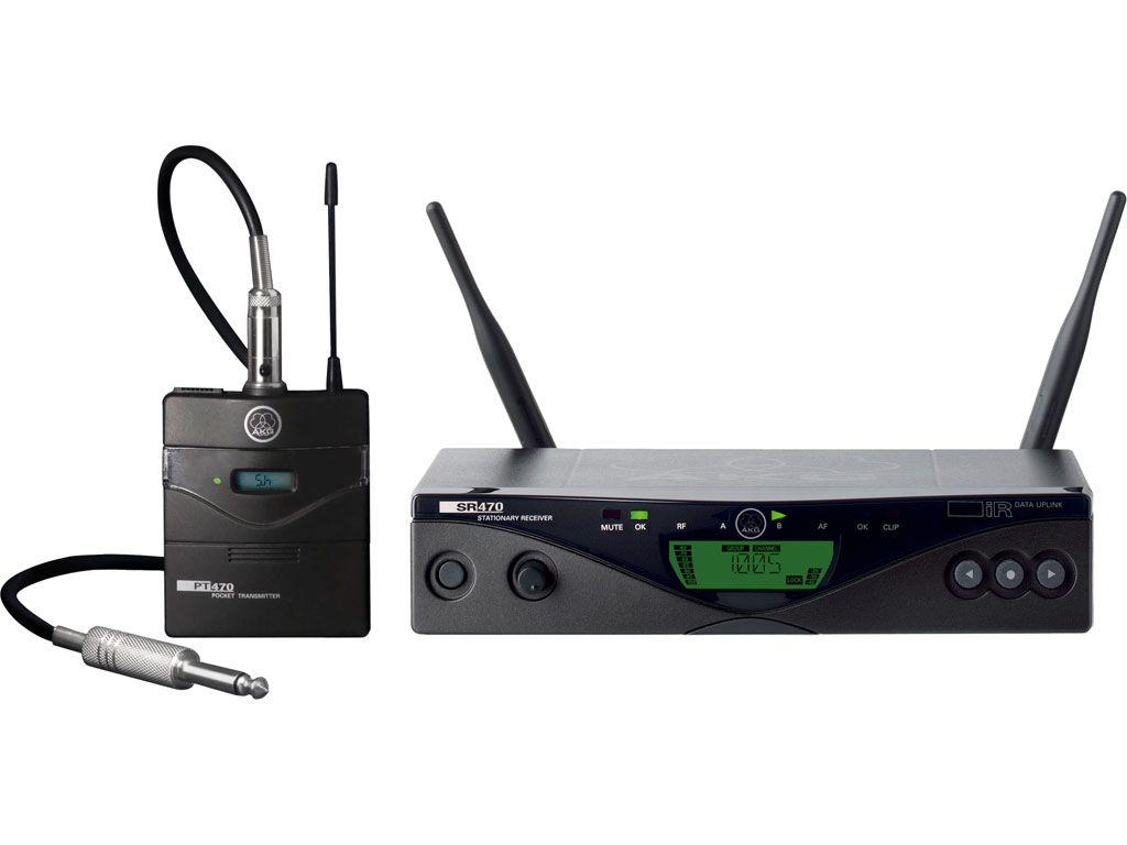 AKG WMS470 Instrumental Set B6, 835-865 MHz