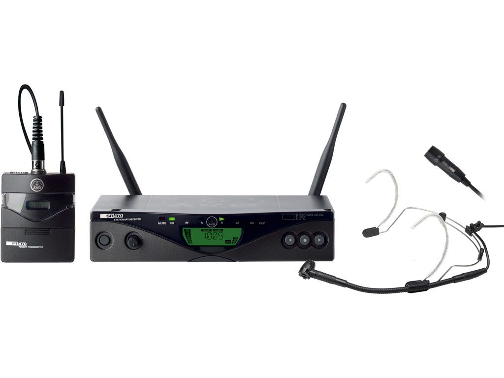 AKG WMS470 Presenterset B6, 835-865 MHz
