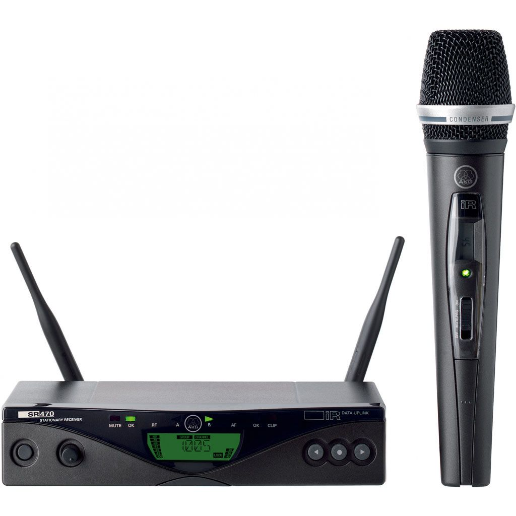 AKG WMS470 Vocal Set/C5 B6, 835-865 MHz