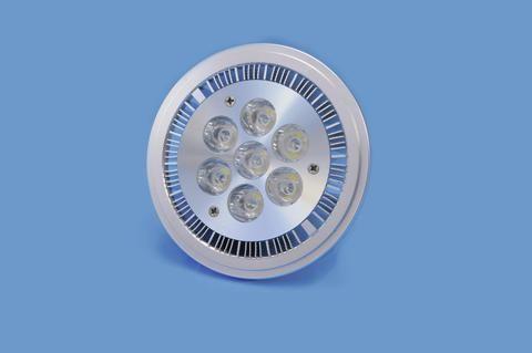 Omnilux 7x1W LED AR111 PAR36 12V 9W kw