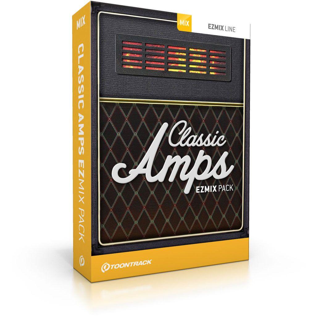 ToonTrack Classic Amps EZmix Pack (Download)
