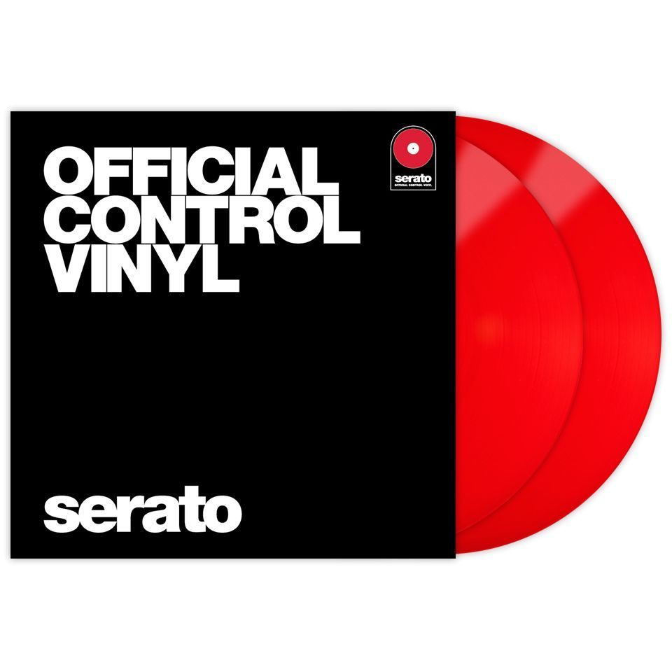 Serato Performance Control Vinyl, red