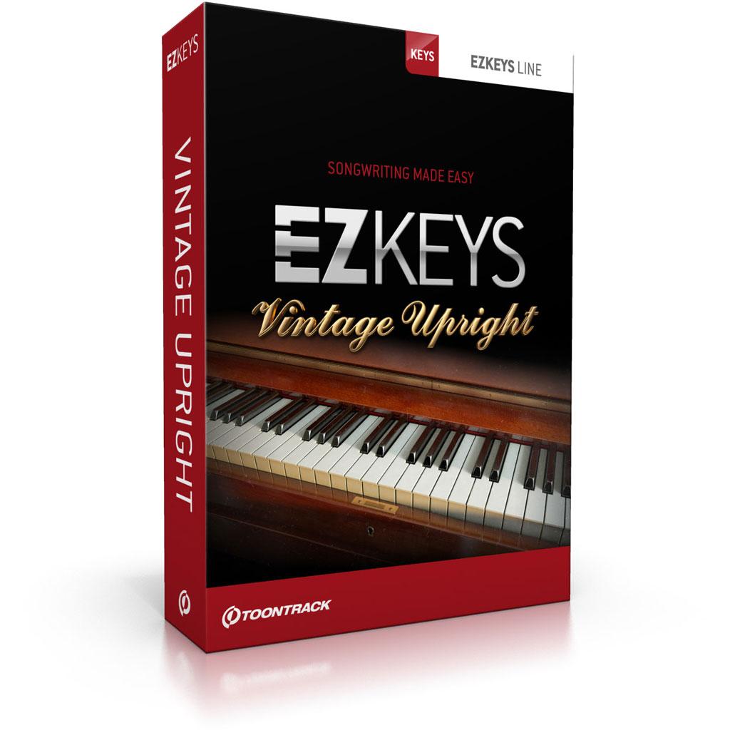 toontrack ezkeys vintage upright g nstig online kaufen im music and more store. Black Bedroom Furniture Sets. Home Design Ideas