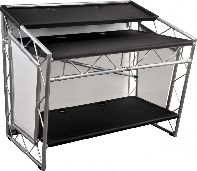 liteconsole xprs aluminium mobiler dj tisch g nstig. Black Bedroom Furniture Sets. Home Design Ideas
