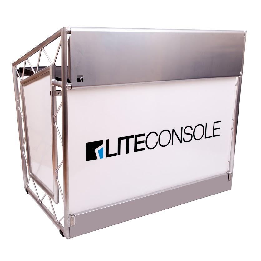 LiteConsole XPRS Lite, mobiler DJ-Tisch