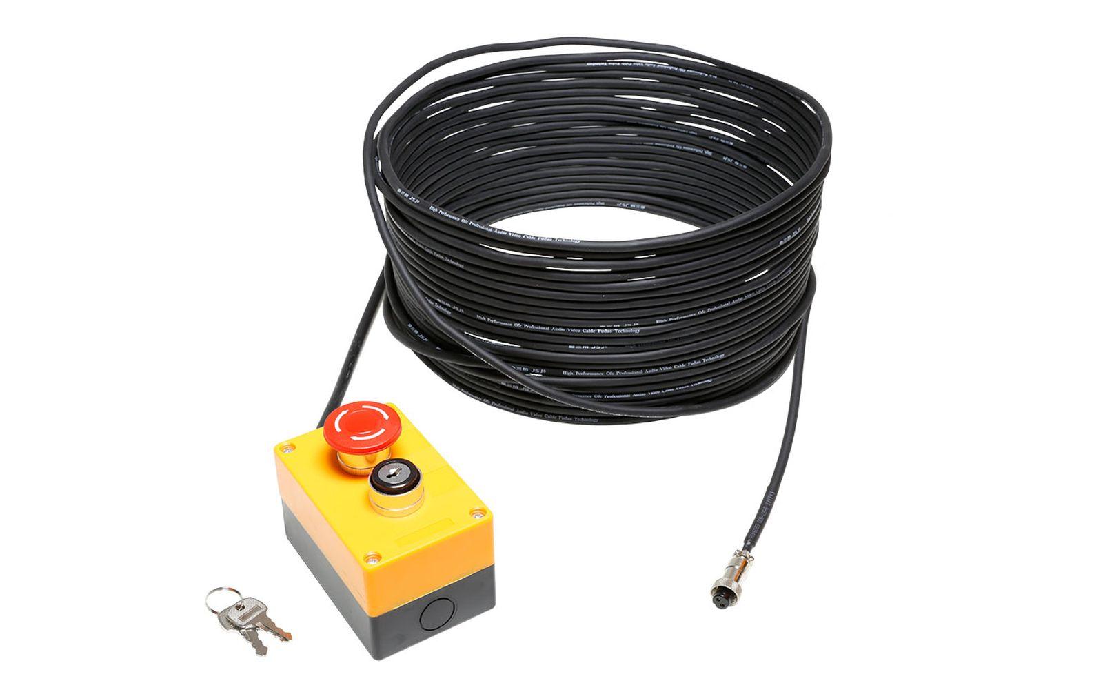 Cameo EKS Laser Not-Aus mit Schlüsselverriegelung und 20m Kabel