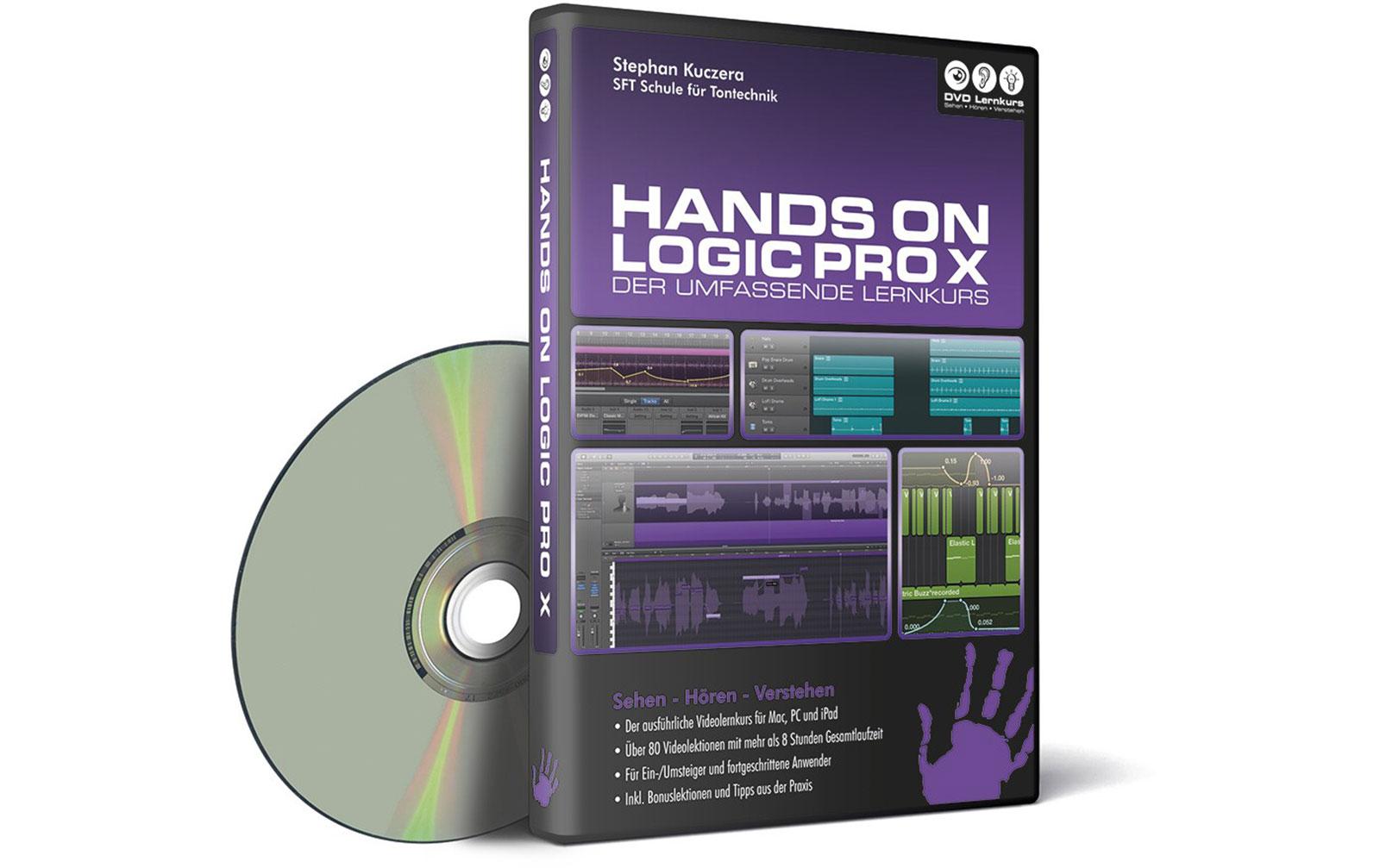 DVD Lernkurs Hands On Logic Pro X