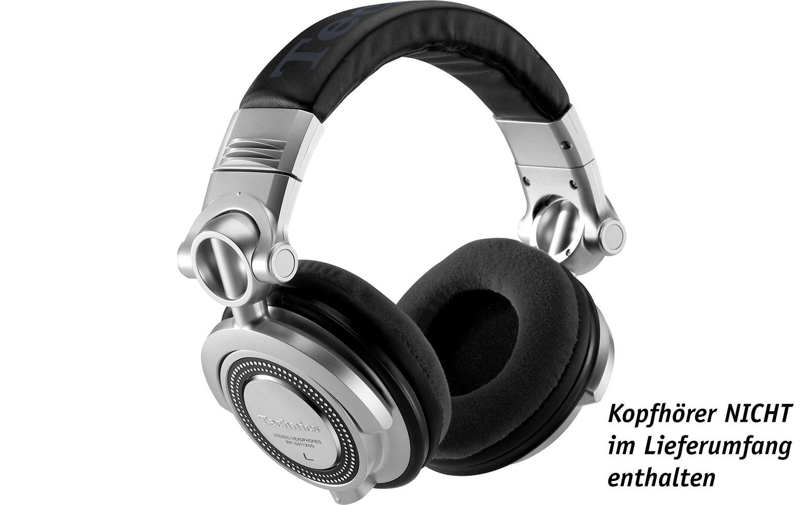 Zomo Polsterset Velour für Technics RP-DH1200 und Pioneer HDJ-1000/-1500/-2000 schwarz