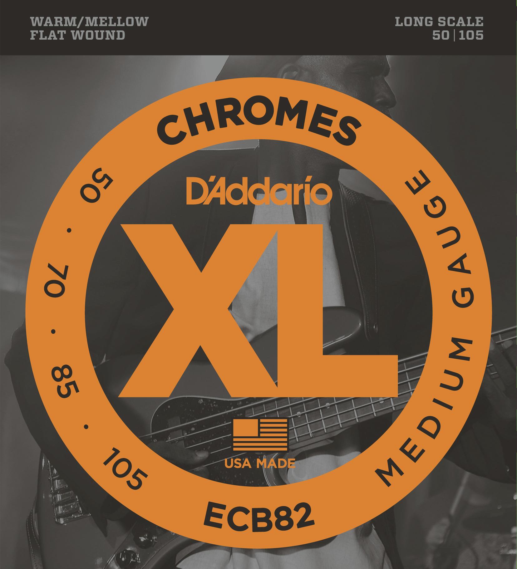 Daddario ECB82 Saitensatz für E-Bass 050-105