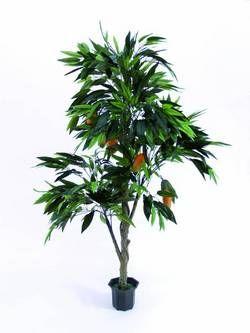 europalms mangobaum mit fr chten i zementtopf 180cm kunstoff g nstig online kaufen im music. Black Bedroom Furniture Sets. Home Design Ideas