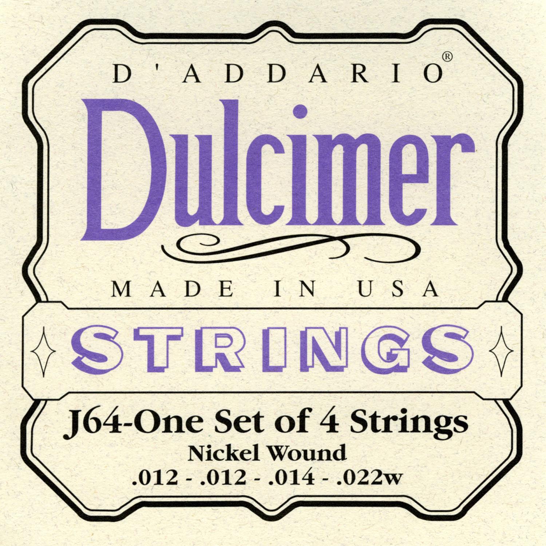 Daddario J64 Saitensatz für Dulcimer