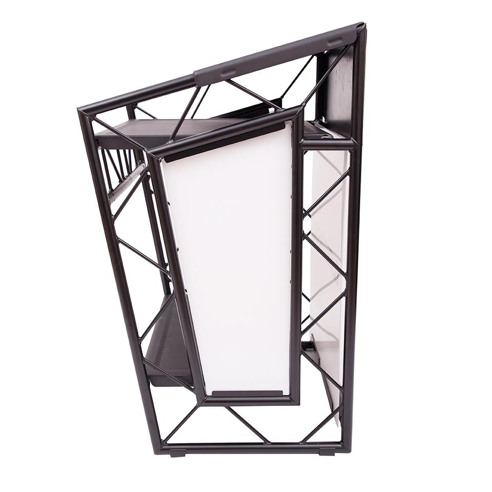 liteconsole go aluminium kompakter dj tisch g nstig. Black Bedroom Furniture Sets. Home Design Ideas