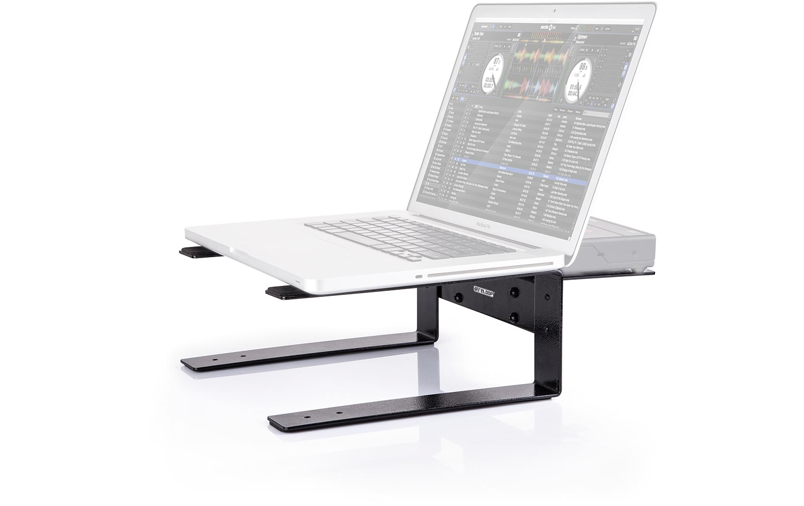 reloop laptop stand flat g nstig online kaufen im music and more store. Black Bedroom Furniture Sets. Home Design Ideas