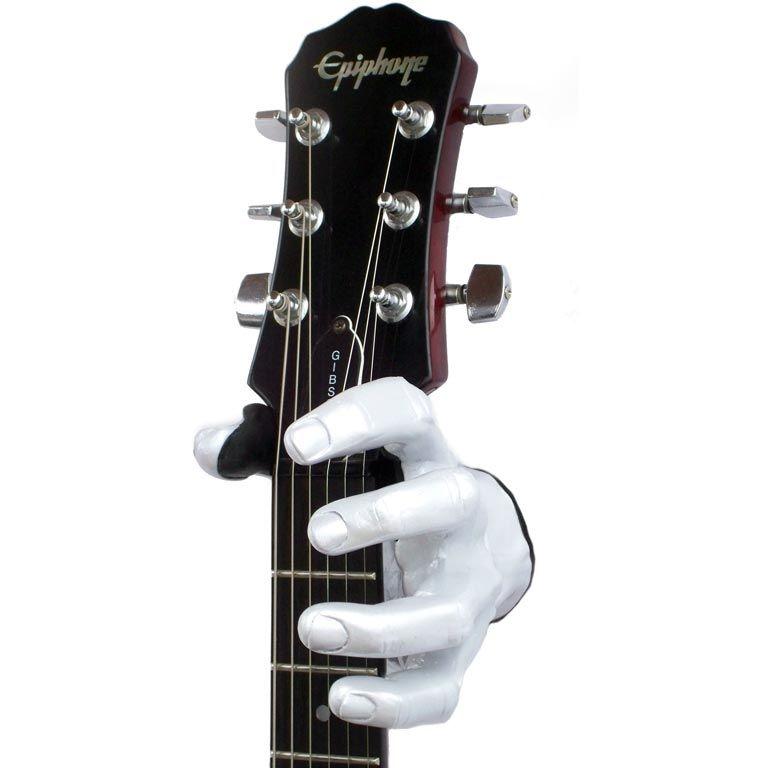 guitargrip wandhalter pearlized white rechts g nstig online kaufen im music and more store. Black Bedroom Furniture Sets. Home Design Ideas
