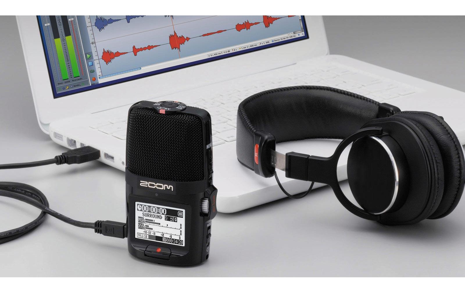 zoom h2n handy recorder g nstig online kaufen im music and more store. Black Bedroom Furniture Sets. Home Design Ideas